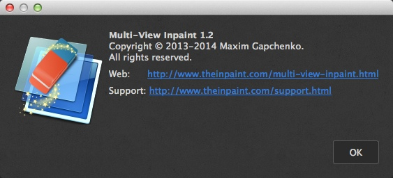 MultiViewInpaint 1.2 for Mac